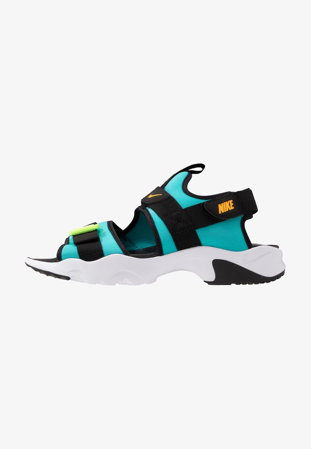 DUMMY - Walking sandals - oracle aqua/laser orange/black/ghost green/white