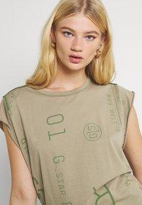 G-Star - GSRAW KNOT  - T-shirt print - hatton contour - 3