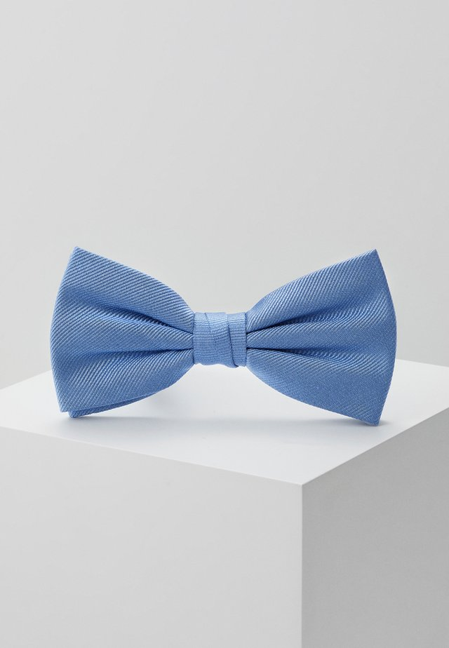 SOLID RIBBED BOWTIE - Mucha - blue