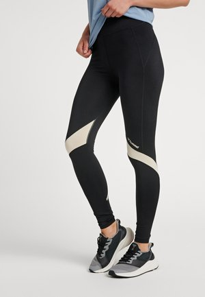 HMLALTHEA HIGH WAIST - Leggings - black