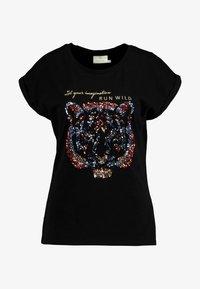 Kaffe - KACRISTY - T-shirt print - black deep - 3