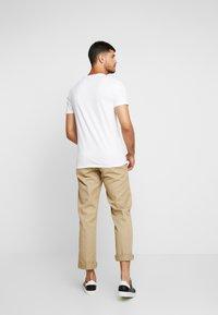 Hollister Co. - CREW CHAIN 3 PACK - T-shirt basic - white - 3