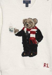 Polo Ralph Lauren - HOTCOCO BEAR - Strickpullover - clubhouse cream - 3
