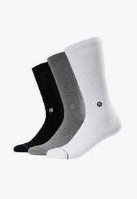 Stance - ICON 3 PACK - Socks - white/grey/black - 1