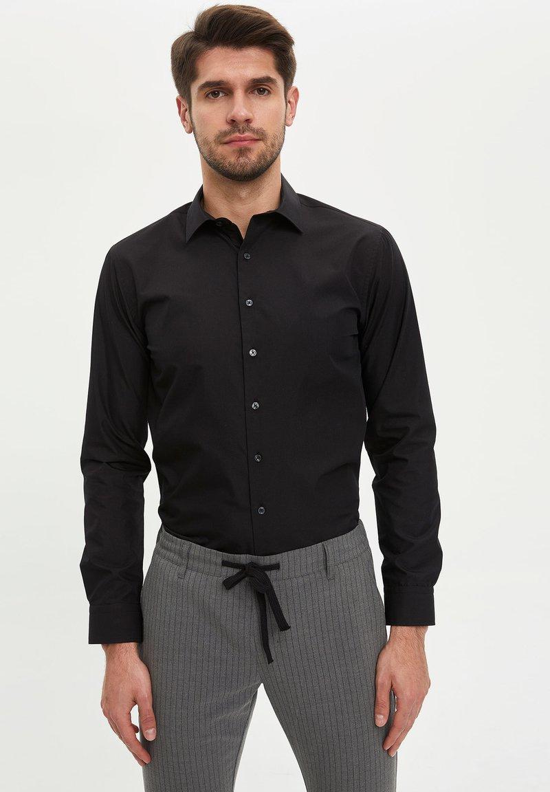 DeFacto - Formal shirt - black