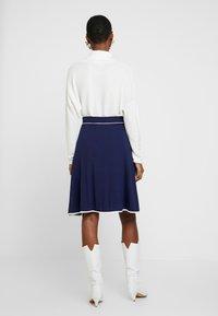 Anna Field - BASIC - Áčková sukně - dark blue - 2