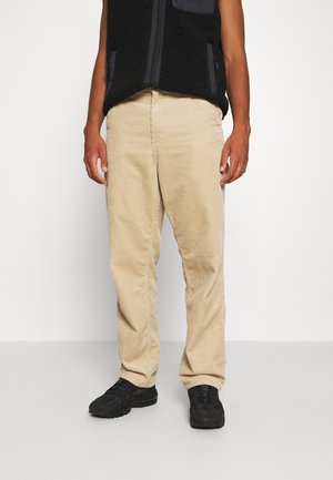 SINGLE KNEE PANT COVENTRY - Pantalon classique - wall rinsed