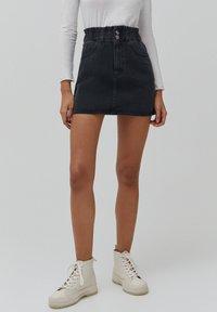 PULL&BEAR - A-line skirt - black - 0