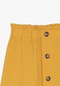 D-XEL - GULLI - A-line skirt - yellow - 3