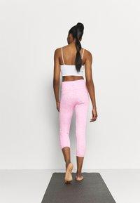 Cotton On Body - LOVE YOU A LATTE 7/8 - Legginsy - tonal pinks - 2