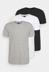 Champion - 3 PACK - T-shirt basique - black/white/grey - 0