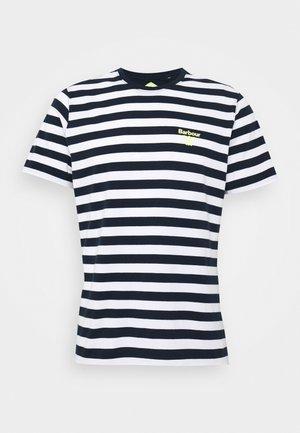 BOW STRIPE TEE - Print T-shirt - new navy