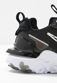Nike Sportswear - REACT VISION - Trainers - black/white - 2