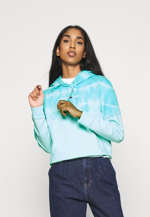 SUMMER TIE DYE HOODIE - Sweat à capuche - light blue