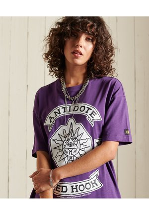 CROSSING - T-shirts print - regal purple