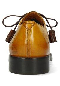 Melvin & Hamilton - BETTY  - Šněrovací boty - indy yellow/burgundy - 3