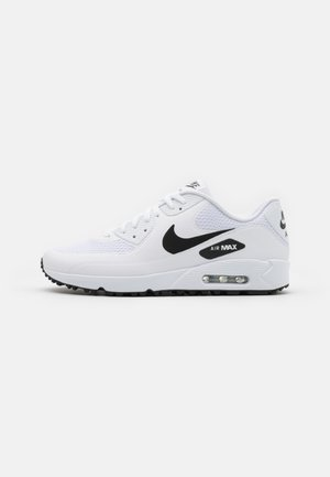AIR MAX 90 G - Chaussures de golf - white/black