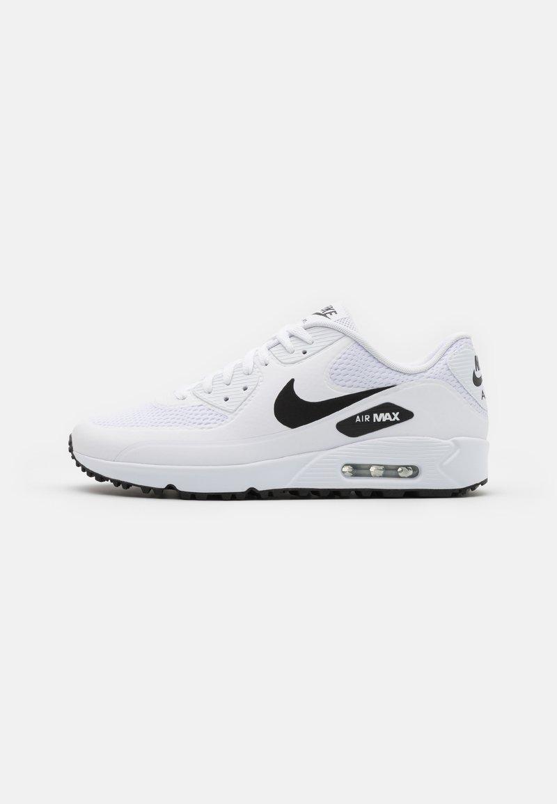 Nike Golf - AIR MAX 90 G - Zapatos de golf - white/black