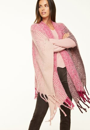 MIT FARBVERLAUF - Cape - light pink multicolor