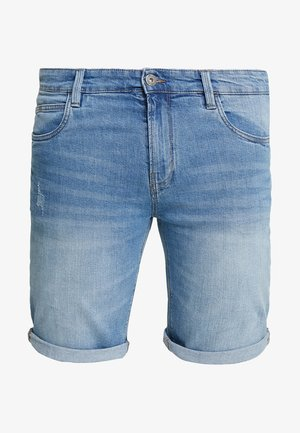KADEN PLUS - Denim shorts - blue wash
