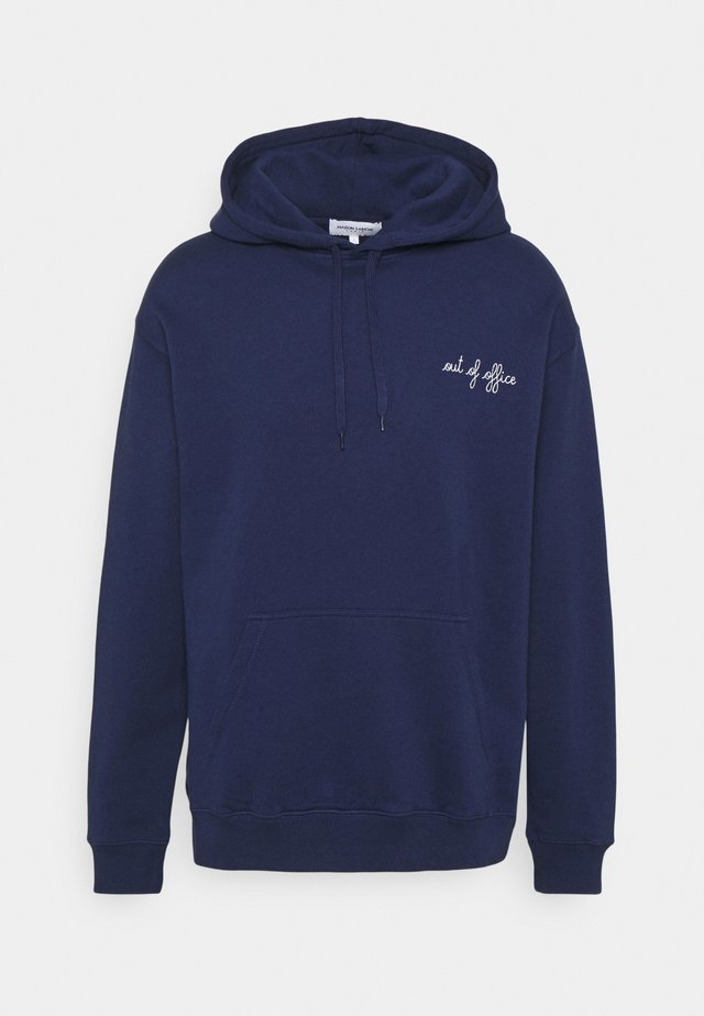 HOODIEOUT OF OFFICE - Sweatshirt - navy