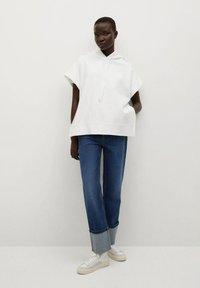 Mango - Print T-shirt - blanc - 1