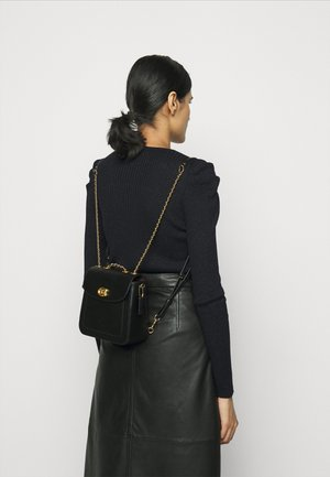 REFINED MADISON BACKPACK - Rucksack - black