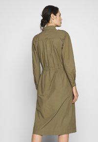 esmé studios - SARAH DRESS - Shirt dress - dusky green - 2