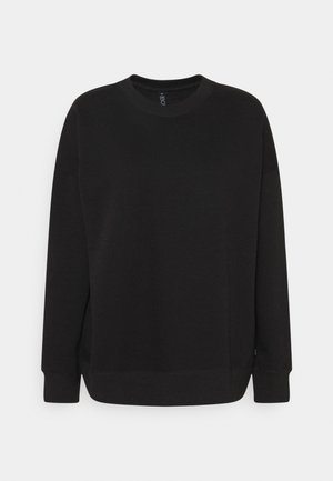LONG SLEEVE CREW - Sweatshirt - black