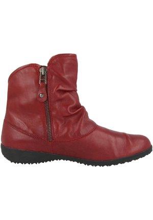NALY - Ankle boots - carmin (79724-vl971-460)