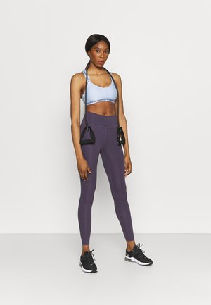 CROSSBACK LOW - Light support sports bra - isotope blue