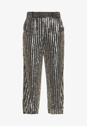 ARGENTO TROUSERS - Pantalones - silver