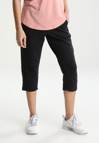 adidas Performance - SOLID - 3/4 sports trousers - noir - 0