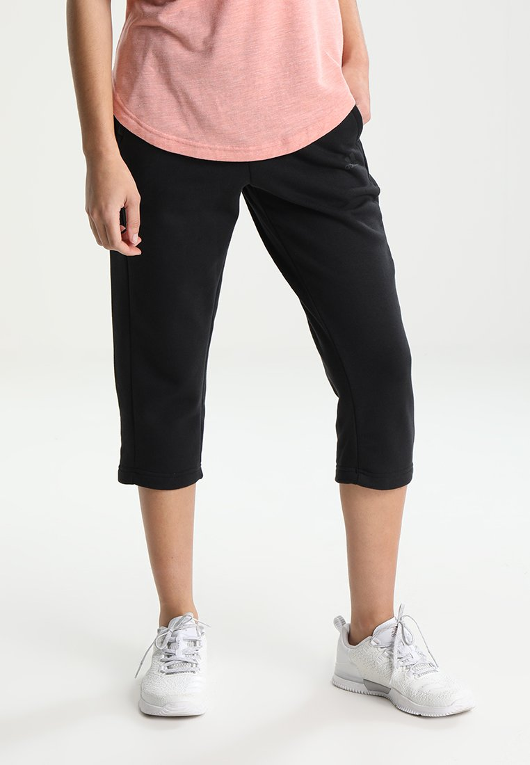 adidas Performance - SOLID - 3/4 sports trousers - noir