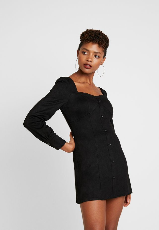 CUPPED MIK MADE DRESS - Shift dress - black