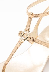 MICHAEL Michael Kors - LITA THONG - Sandals - pale gold - 2