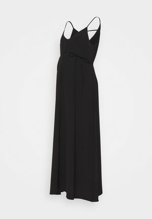 SCOPOLINA - Maxi dress - black