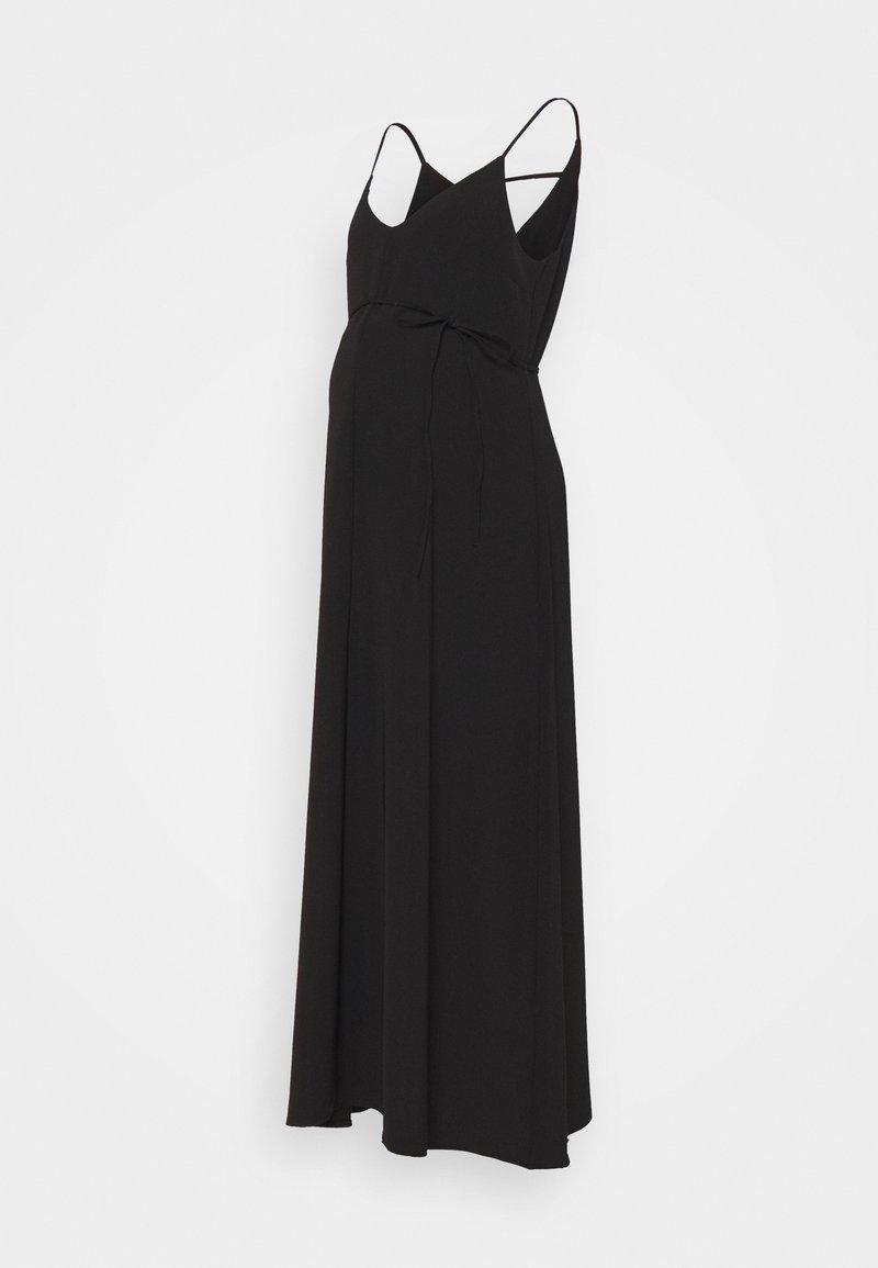 IVY & OAK Maternity - SCOPOLINA - Robe longue - black