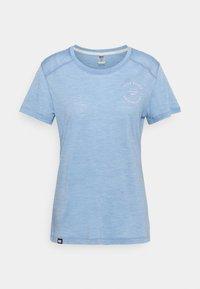 Mons Royale - VAPOUR TEE - Basic T-shirt - faded denim - 0