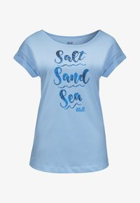 Jack Wolfskin - SALT SAND SEA - Print T-shirt - ice blue - 2