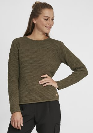 HELEN - Jumper - ivy green