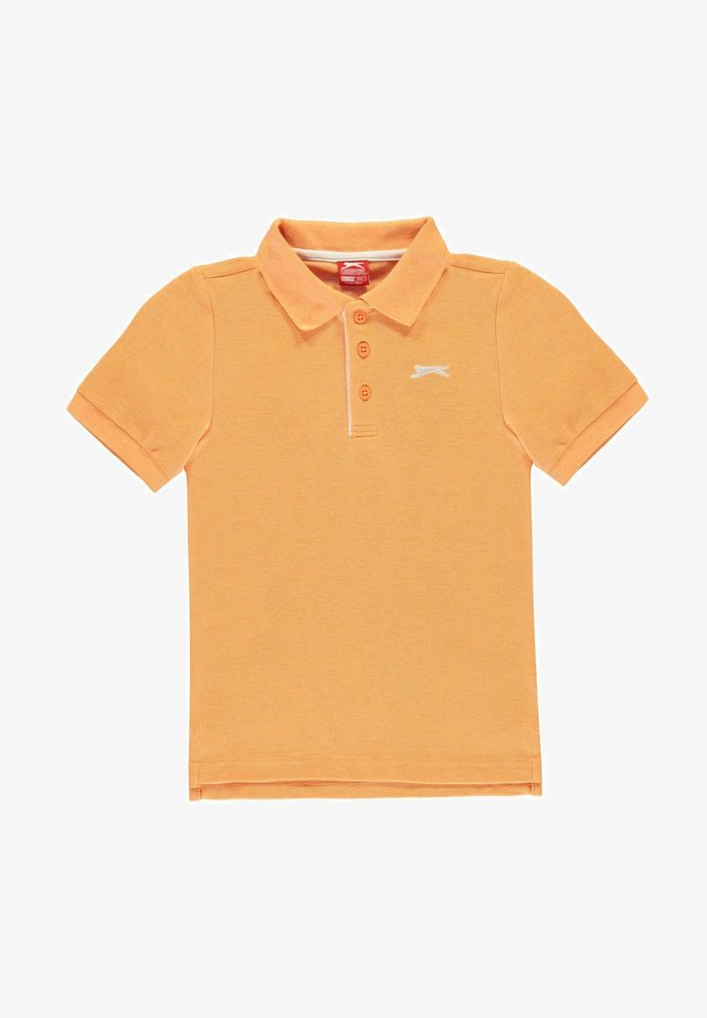 Polo shirt - orange marl
