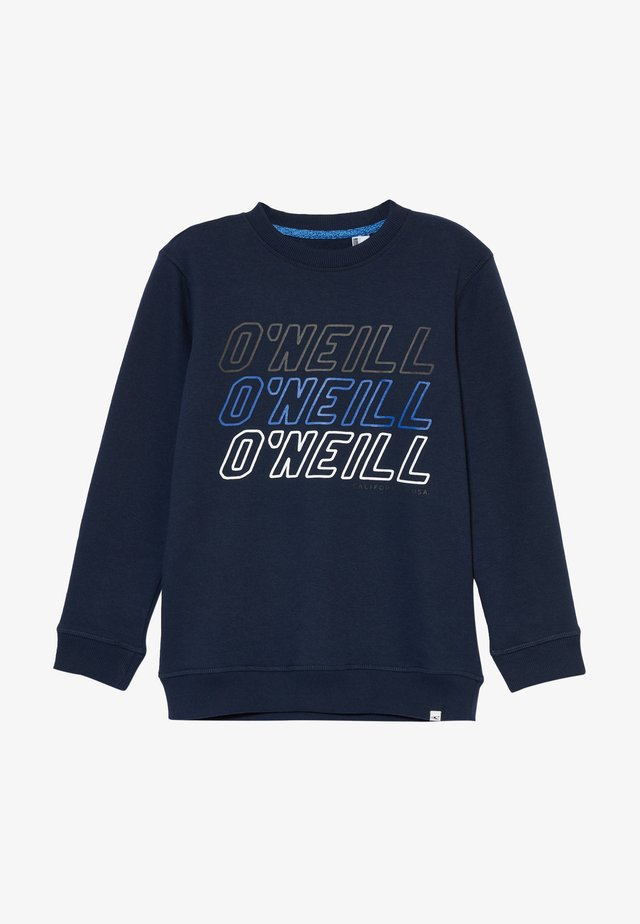 CREWS ALL YEAR  - Sweatshirt - ink blue