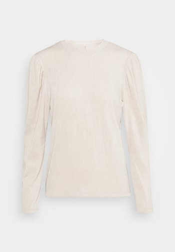 ONLJENKA PUFF - Long sleeved top - ecru