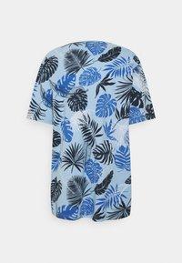 Shine Original - PALM O NECK TEE - Print T-shirt - blue - 1