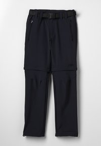 CMP - BOY ZIP OFF 2-IN-1 - Outdoor trousers - antracite - 0