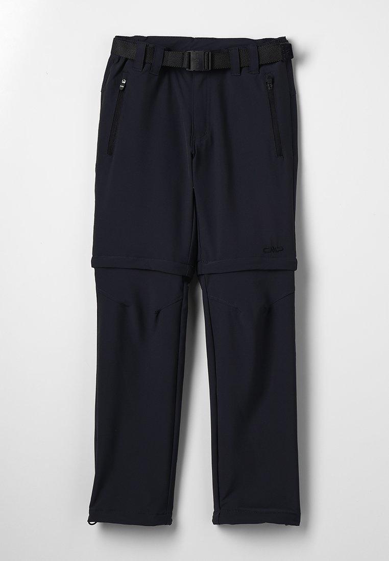 CMP - BOY ZIP OFF 2-IN-1 - Outdoor trousers - antracite