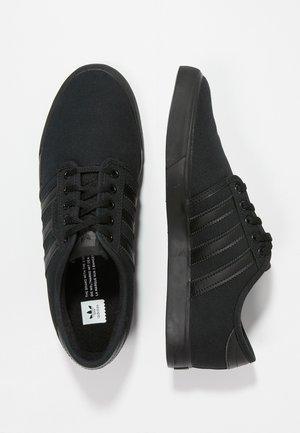 SEELEY - Skateboardové boty - cblack