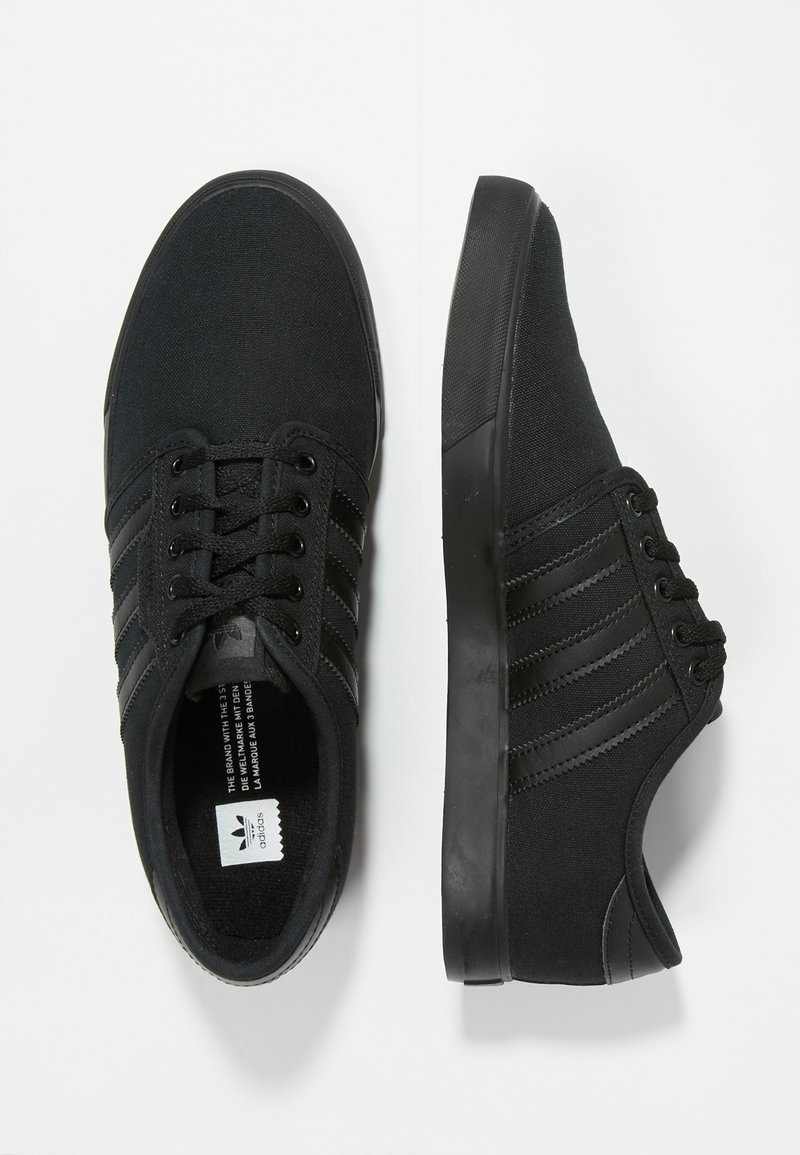 adidas Originals - SEELEY - Skate shoes - cblack