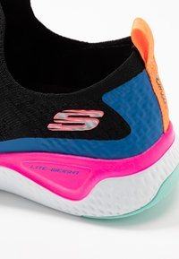 Skechers Sport - SOLAR FUSE - Trainers - black/multicolor - 2